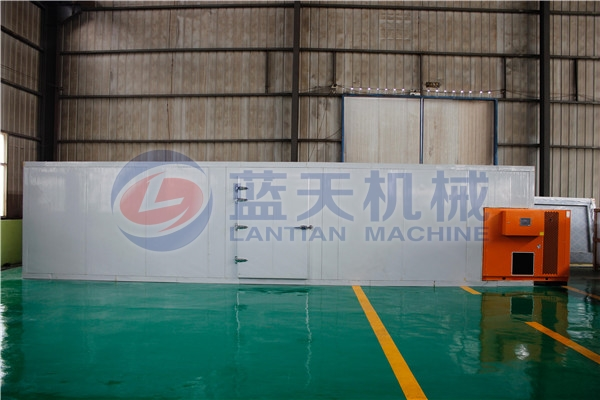 Panorama of agriculture dryer machine