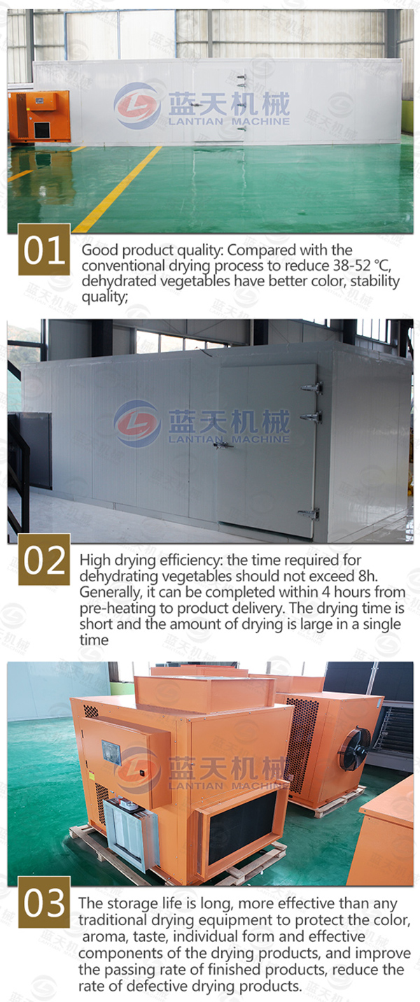 Features of agriculture dryer machine