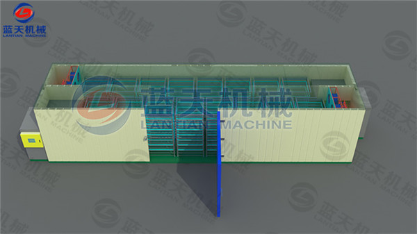Structure diagram of agriculture dryer machine