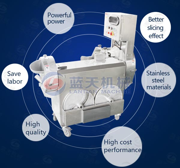 Machines features of cutting machine