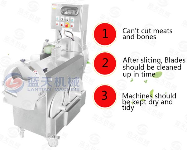 Matters needing attention of our cutting machine