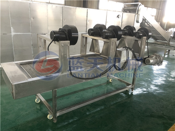Working principle of air drying machine