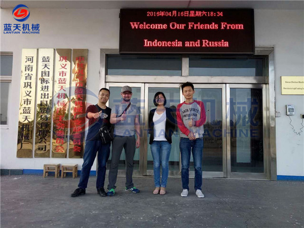 Indonesia And Russia Customers